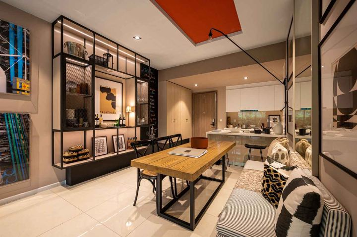 Desain Apartemen 2 Kamar